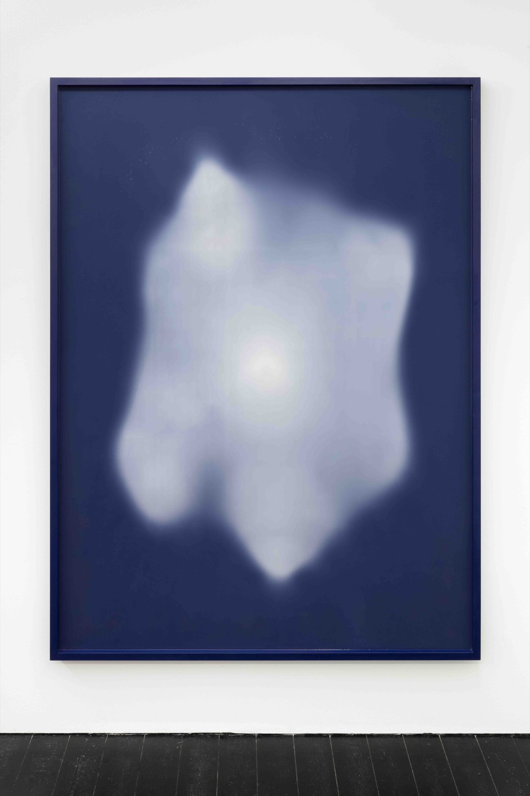 Vanessa Safavi, Nebula, 2021, silicon, wood, paint, pigment