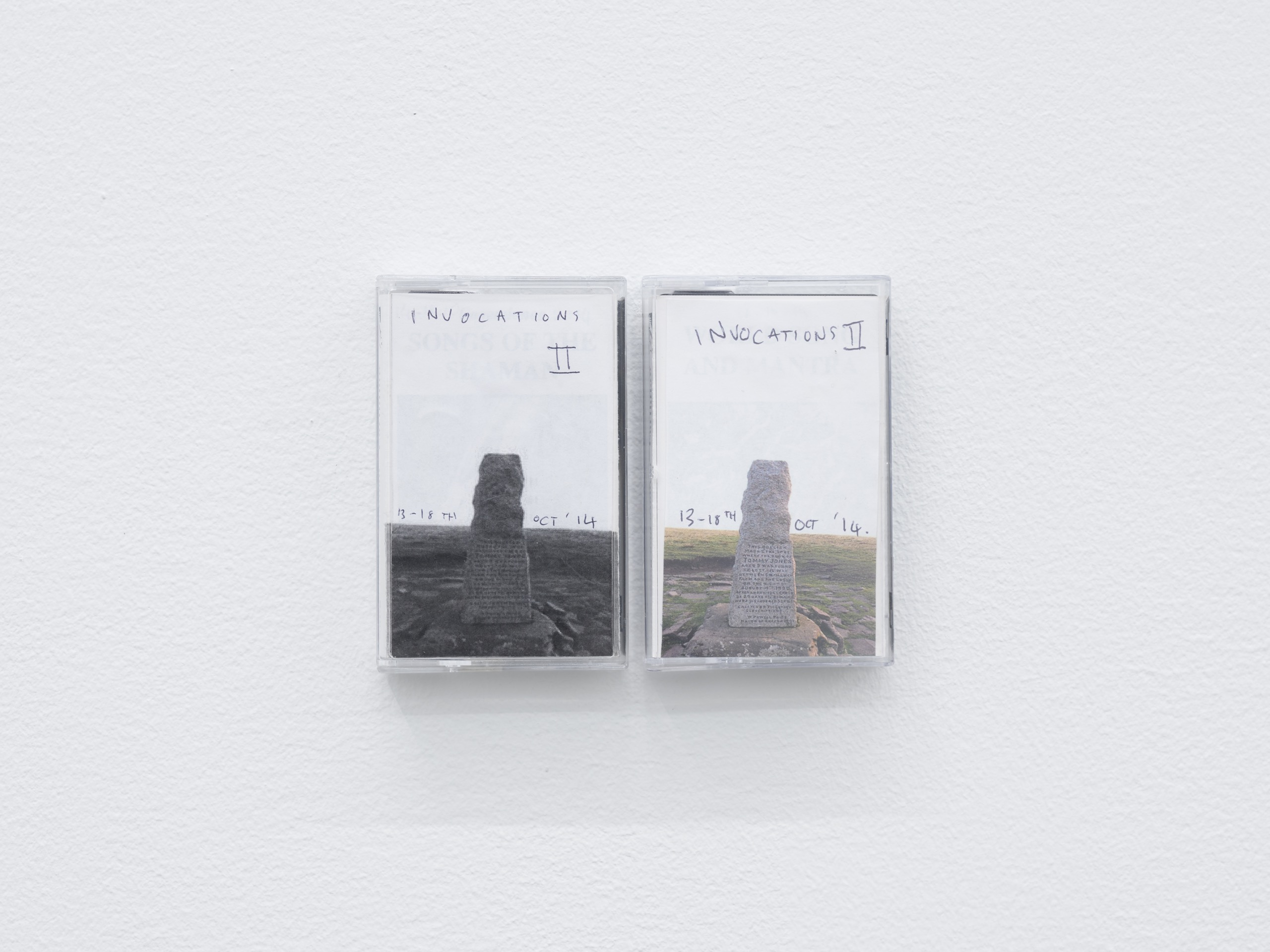 John T. Gast, Invocations II , 2014 Two cassette tapes, mp3 file, website link, 49:59