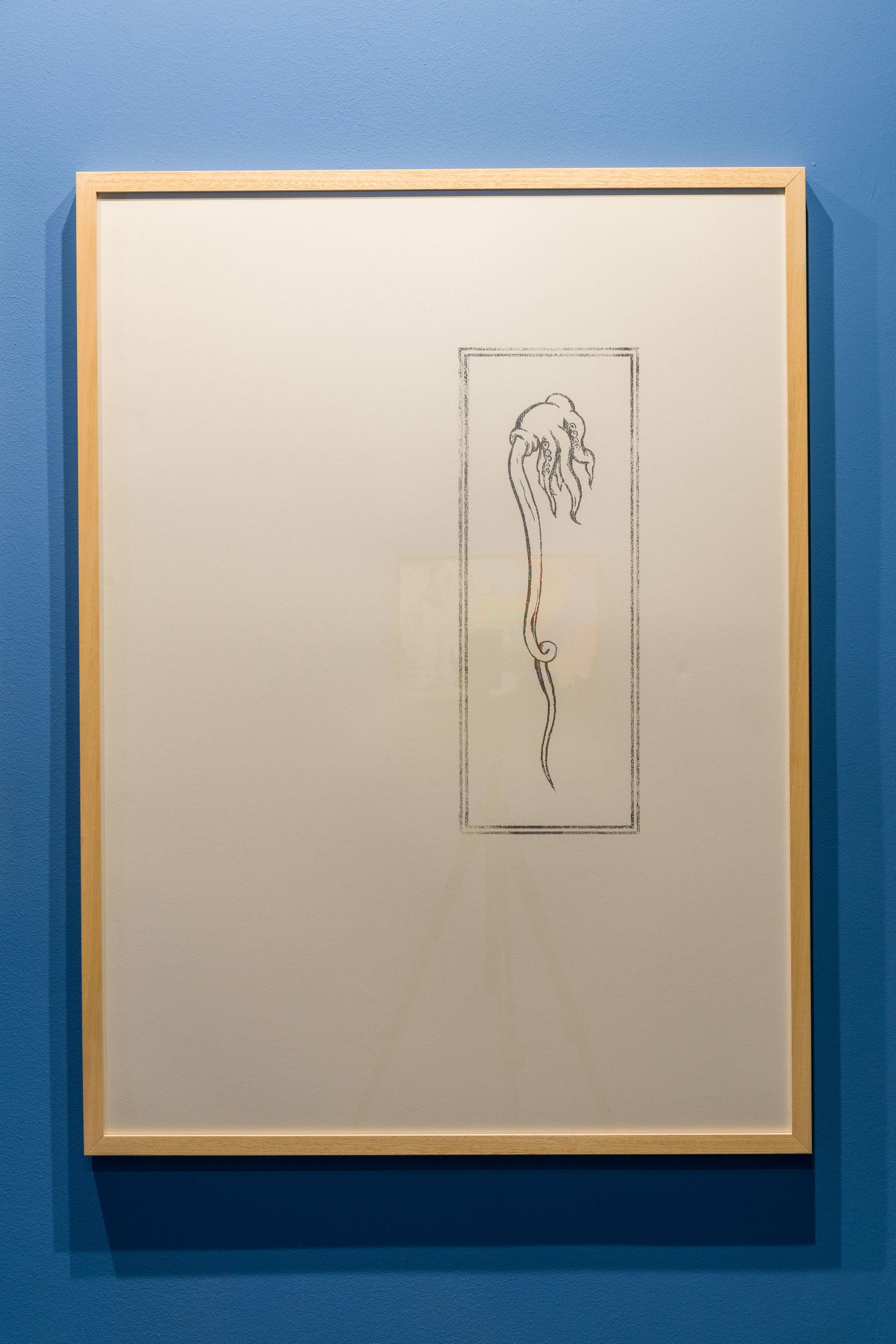 Flaviu Rogojan, Octopucker, 2021, Dye Transfer on Paper