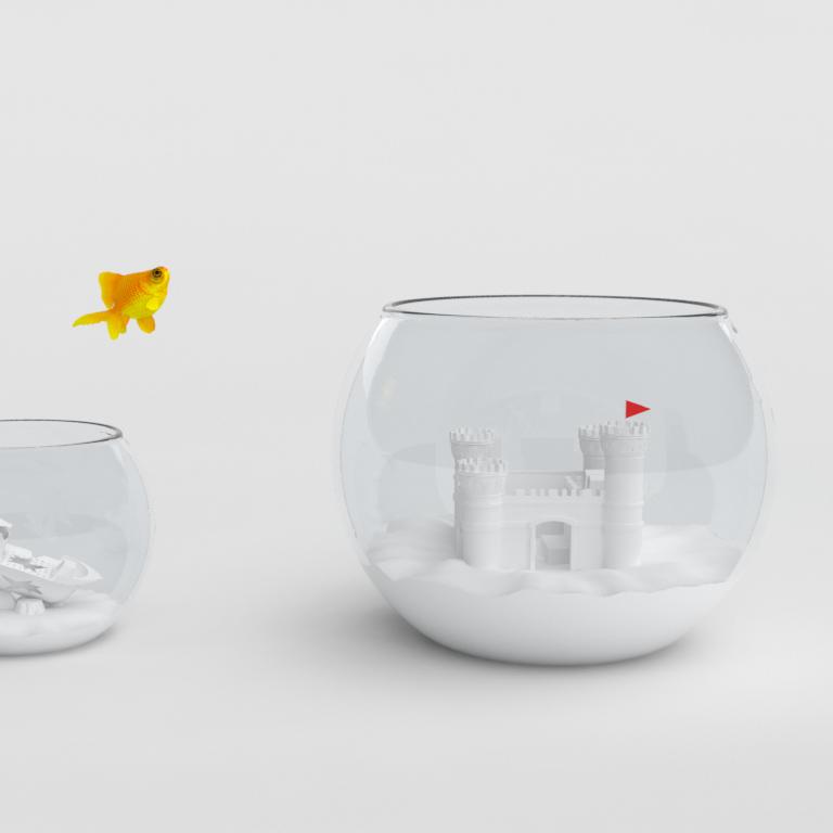 Verizon Fish Bowl