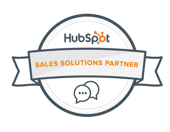 Hubspot sales solution partner logo