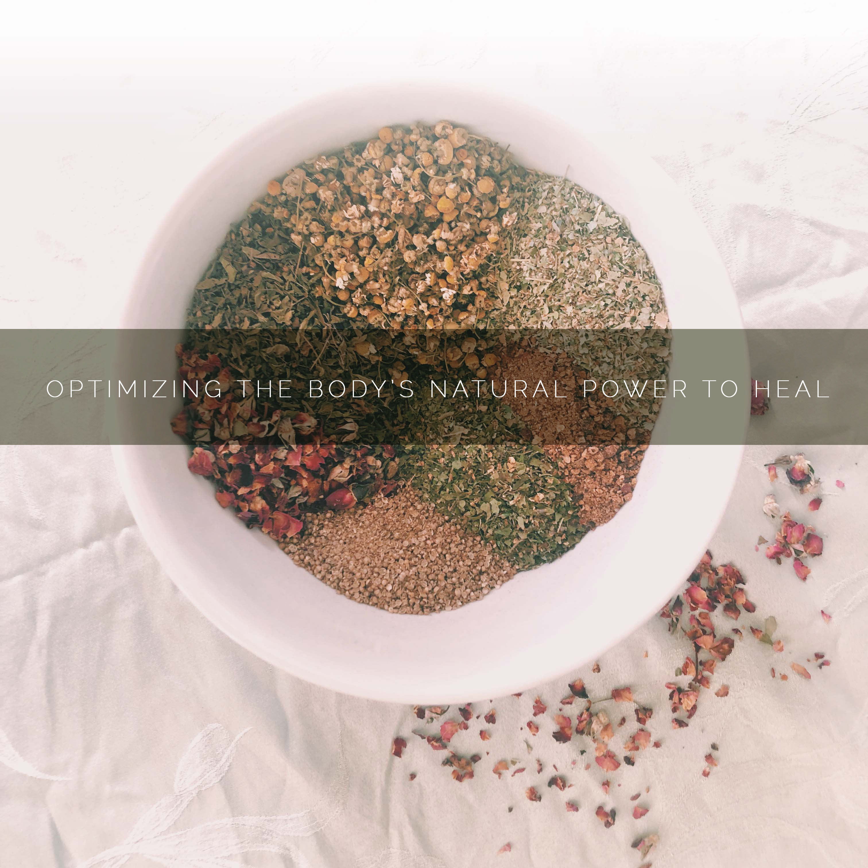 All natural tea blend handmade by clinical herbalist Darcy nick