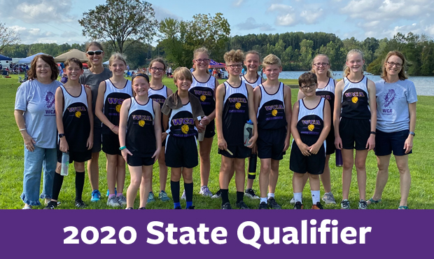 Cross Country 2020 State Qualifier Team
