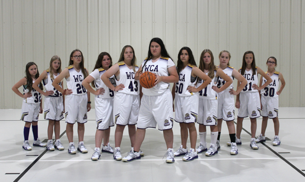 Girls Middle School Basketball Team