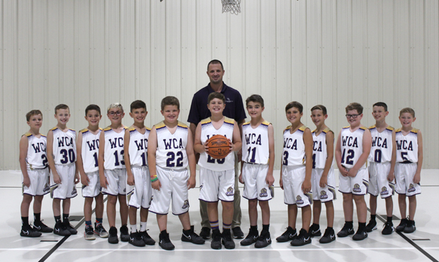 Boys Elementary Basketball Team