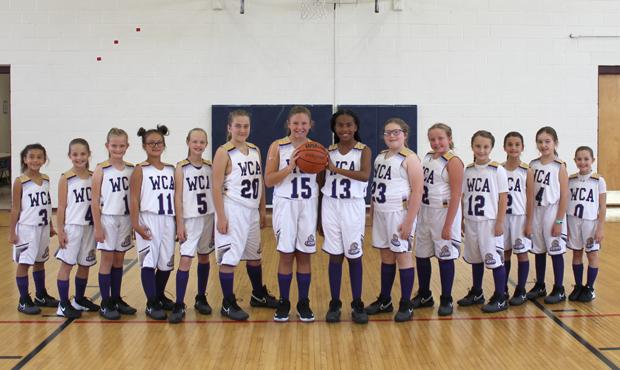 Girls Elementary Basketball Team