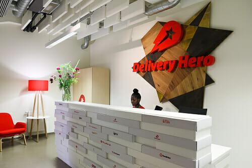 Delivery Hero bietet Massage am Arbeitsplatz an