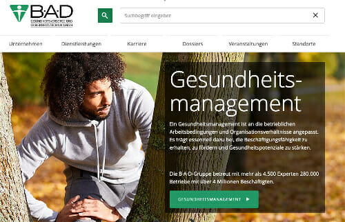 BAD GmbH Gesundheitsmanagement