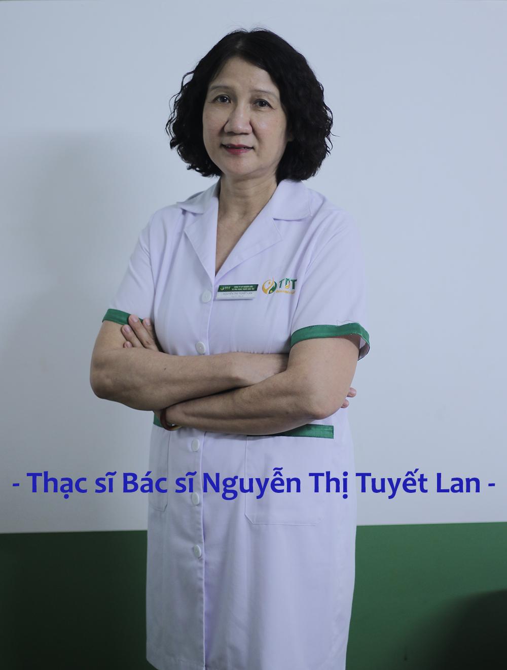 Thạc sĩ bác sĩ Nguyễn Thị Tuyết Lan - Giám đốc cố vấn đa khoa SuckhoeVN