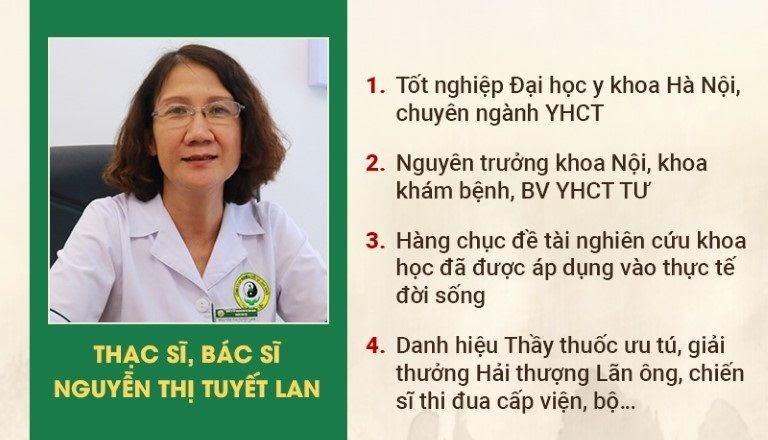 Thạc sĩ Bác sĩ Nguyễn Thị Tuyết Lan