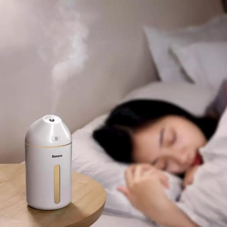 Bạn nên sử dụng máy phun sương để tạo độ ẩm cho phòng
