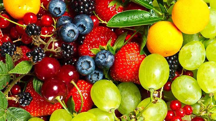 Các loại trái cây tươi sẽ tăng cường sức đề kháng và đẩy lùi triệu chứng ho
