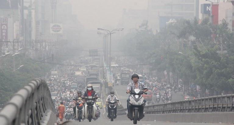 Môi trường ô nhiễm là một trong những yếu tố gây bệnh thường gặp