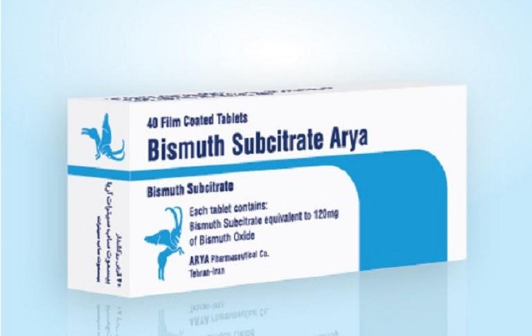 Bismuth tạo lớp màng bọc bao phủ và bảo vệ niêm mạc dạ dày
