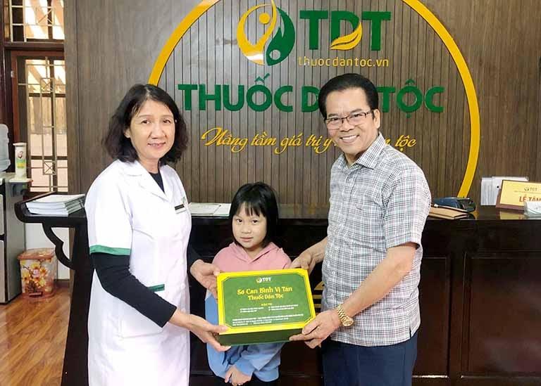 NSND Trần Nhượng, cháu gái và Ths.Bs Tuyết Lan