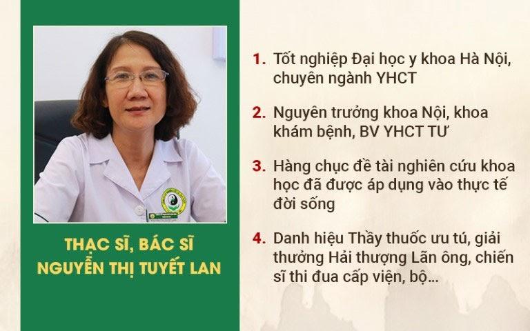 Sơ can Bình vị tán được bác sĩ Tuyết Lan đánh giá cao
