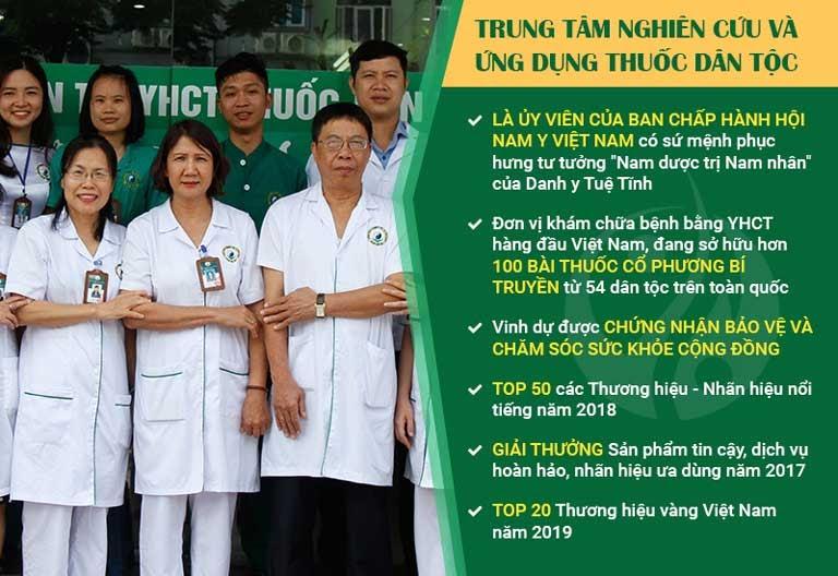 Trung tâm Thuốc dân tộc đạt nhiều giải thưởng danh giá