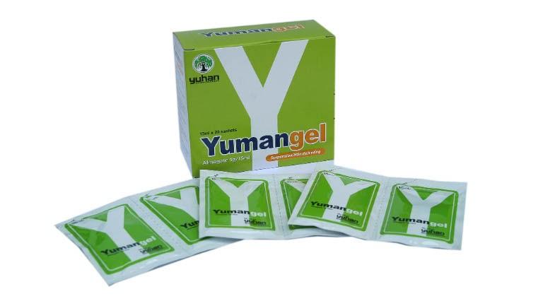 Thuốc trào ngược dạ dày Yumangel