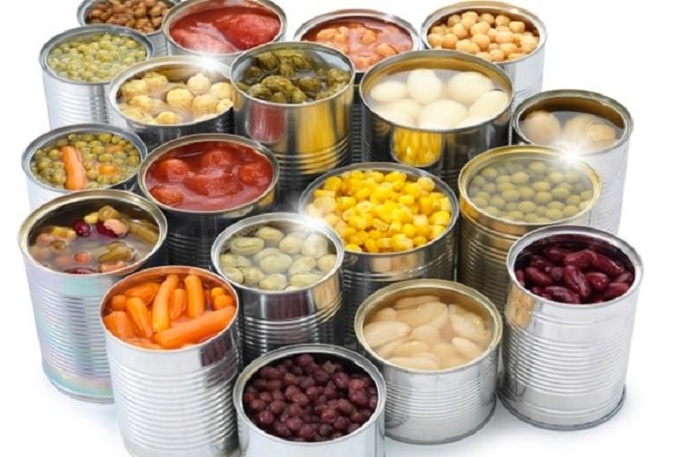 Đồ hộp và thức ăn chế biến sẵn rất có hại cho người bệnh trào ngược