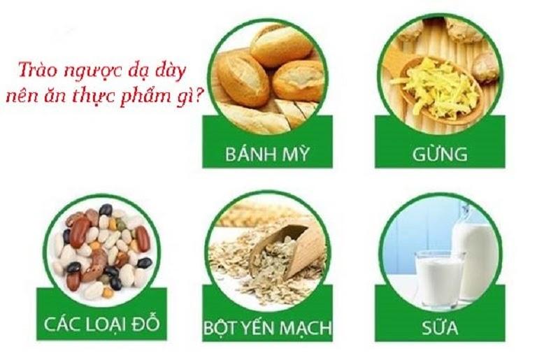 Chế độ ăn uống dành cho bệnh nhân trào ngược axit dạ dày