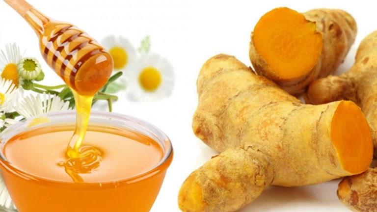 Bài thuốc từ mật ong và nghệ giúp trung hòa axit