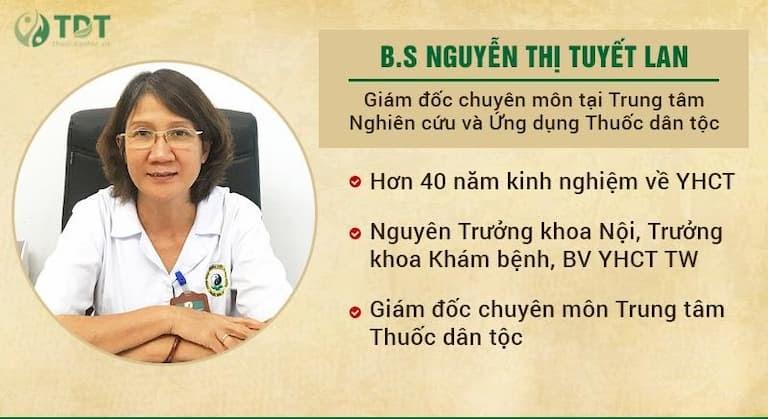 Chân dung chuyên gia tiêu hóa hàng đầu - Ths.Bs Nguyễn Thị Tuyết Lan