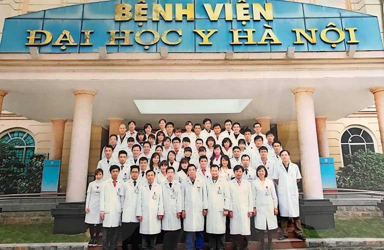 Bệnh viện Đại học Y Hà Nội là một địa chỉ thích hợp để khám đau dạ dày