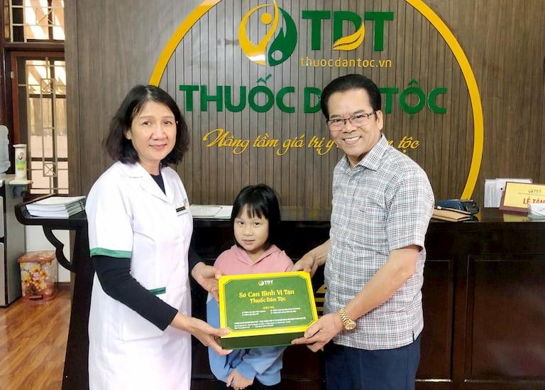 NSND Trần Nhượng và cháu gái đều đã chữa thành công bệnh dạ dày tại Trung tâm Thuốc dân tộc
