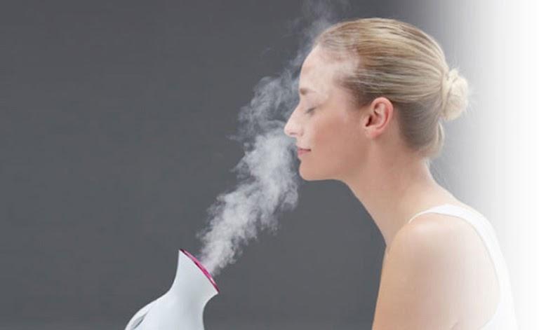Xông hơi giúp thư giãn xoang, giảm dịch nhầy ứ đọng