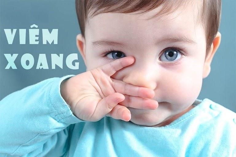 Viêm xoang ở trẻ em rất dễ xảy ra mỗi khi thời tiết thay đổi
