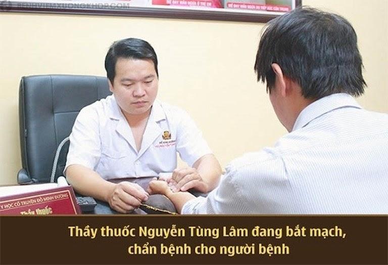 Lương y Nguyễn Tùng Lâm - Bác sĩ giỏi chữa viêm xoang bằng YHCT