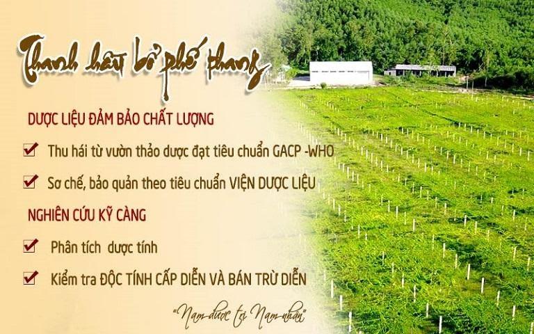 Thanh Hầu Bổ Phế Thang được đánh giá cao nhờ chất lượng thảo dược