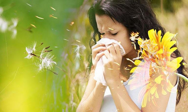 Phấn hoa là một trong những tác nhân phổ biến gây nên bệnh