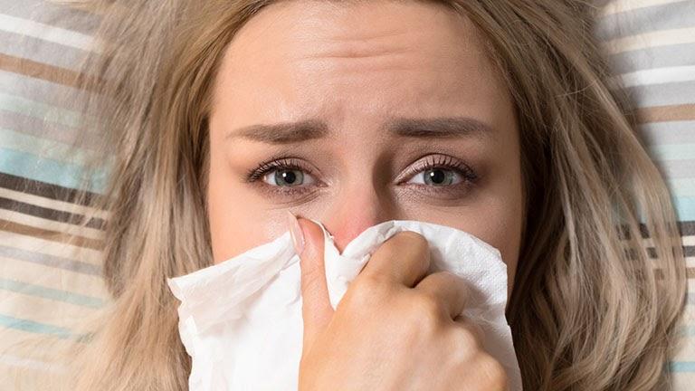 Nghẹt mũi là tình trạng phổ biến trong cuộc sống