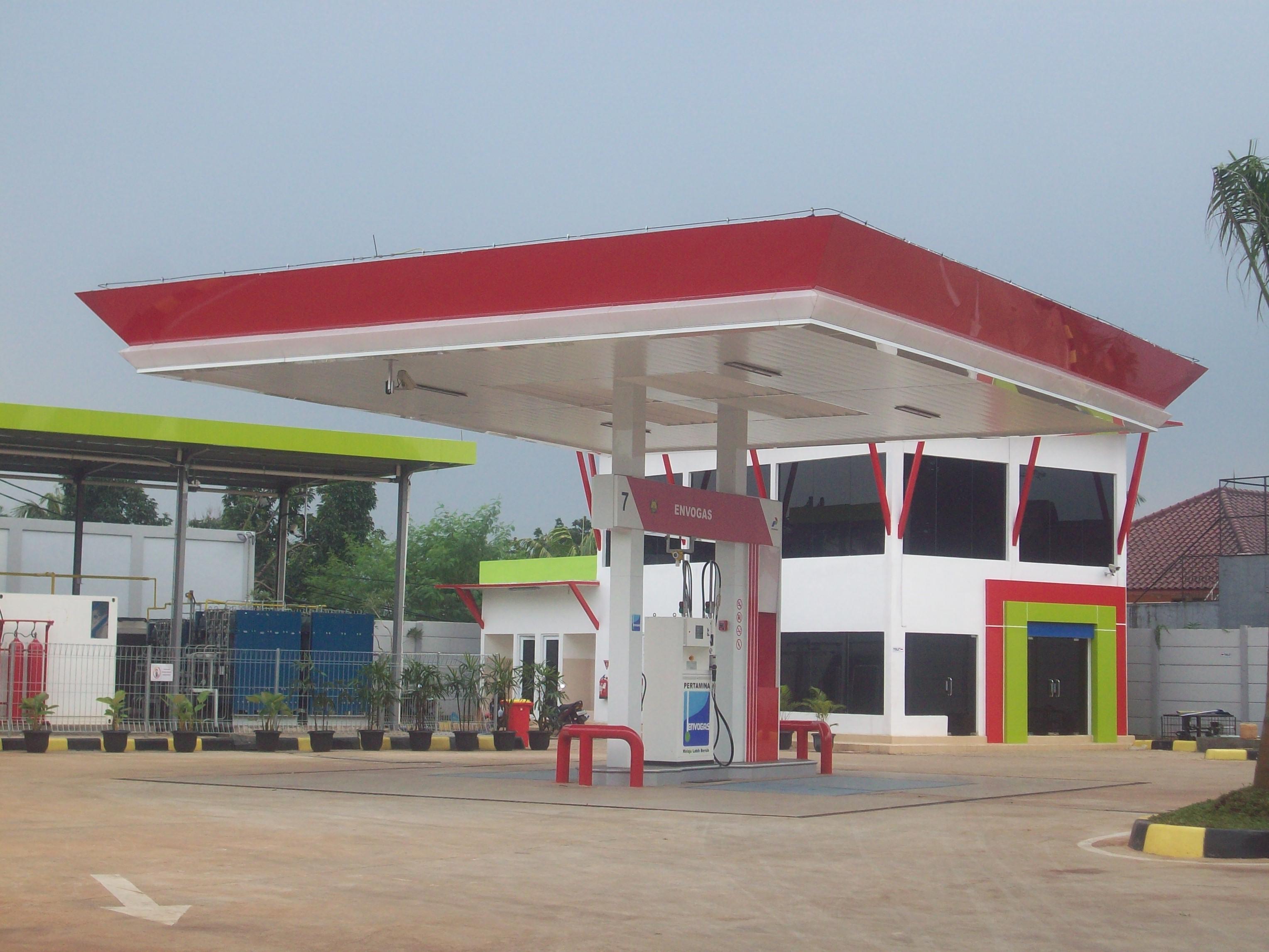 CNG Station/ Stasiun Pengisian Bahan Bakar Gas (SPBG), 2013