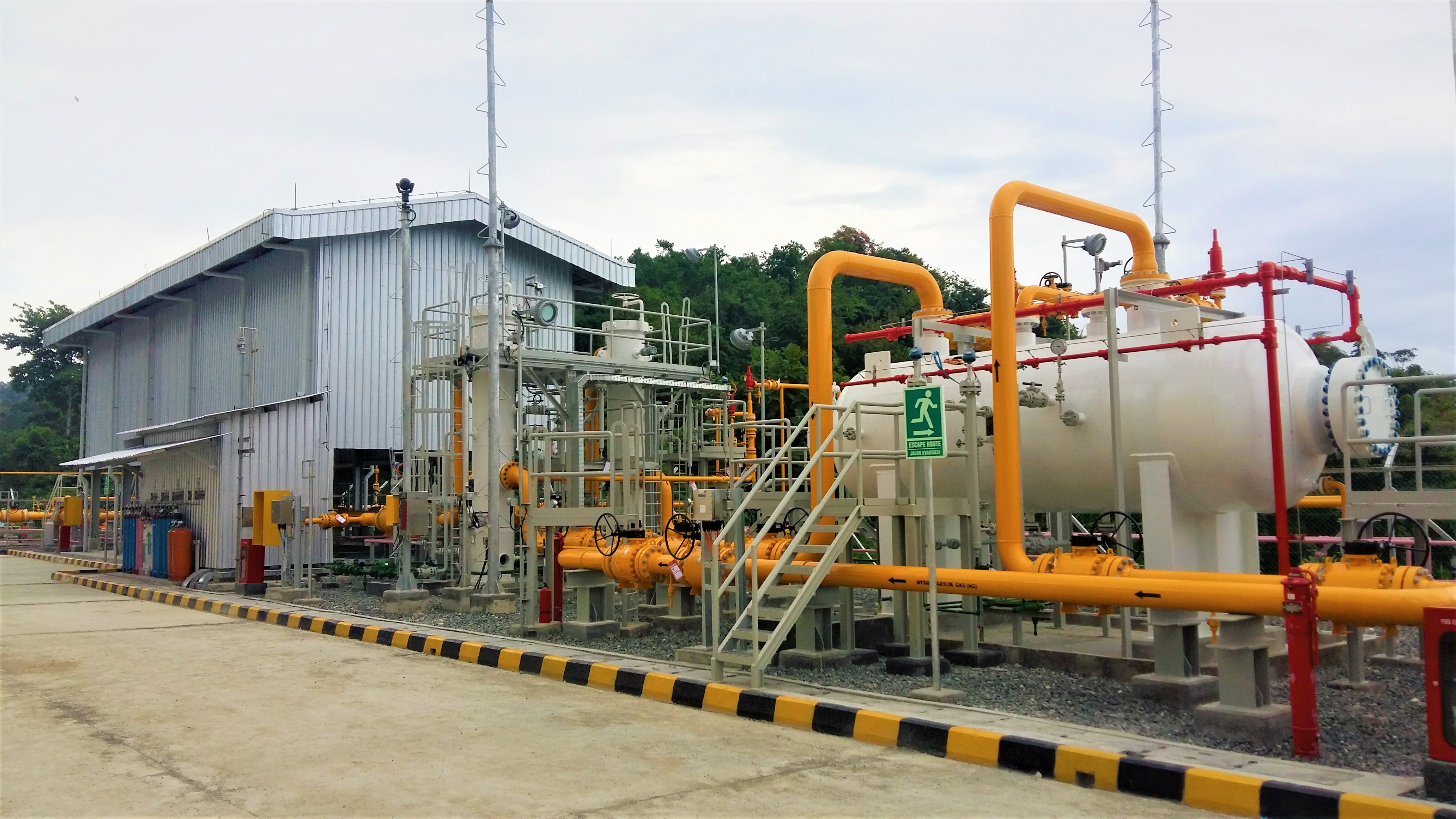 EPC Gas Measurement Facility Senoro - PAU (Integrated EPC Construction), 2016