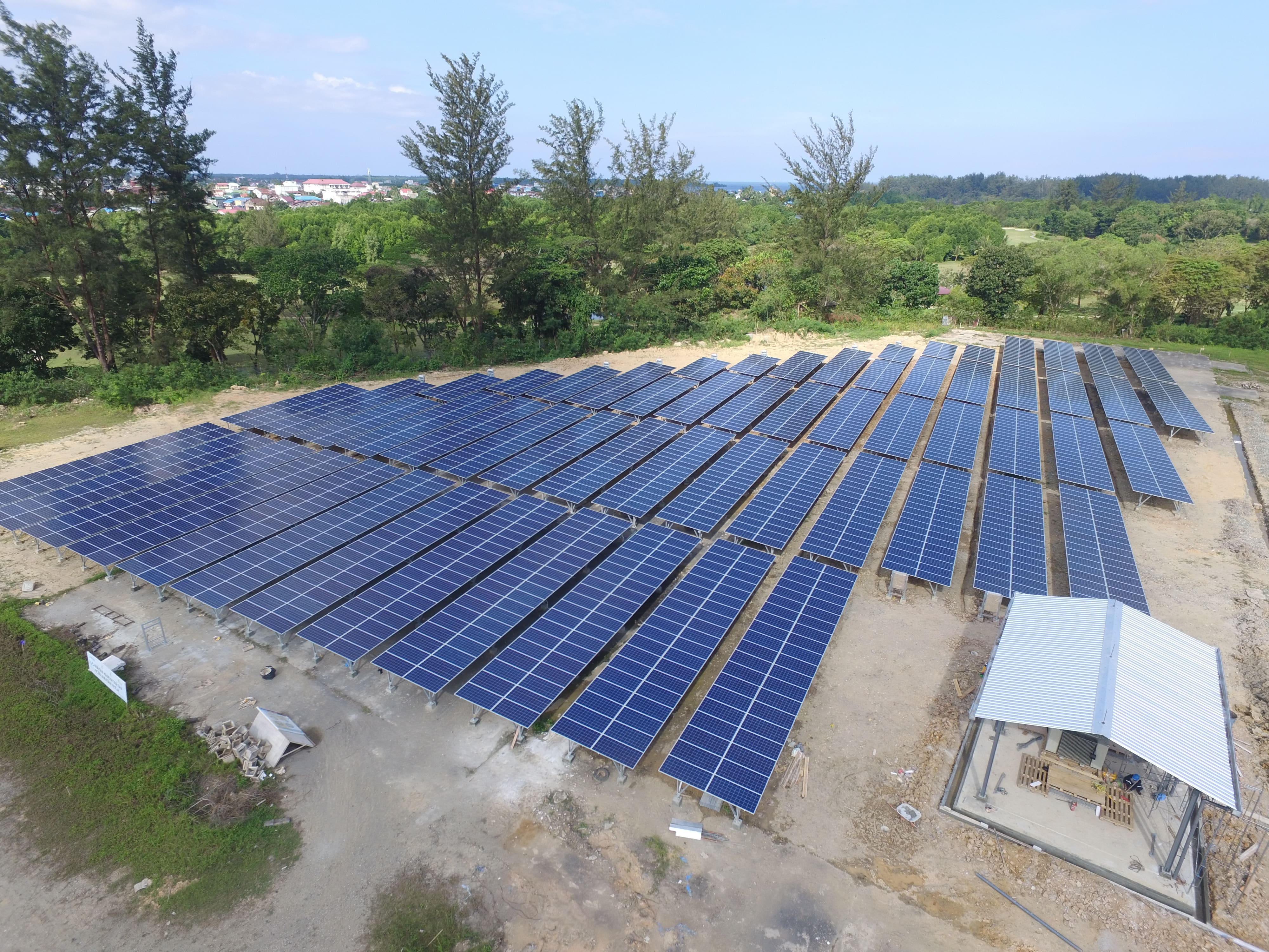 3 MW Solar Power Plant EPC at PT Badak NGL Location, 2018