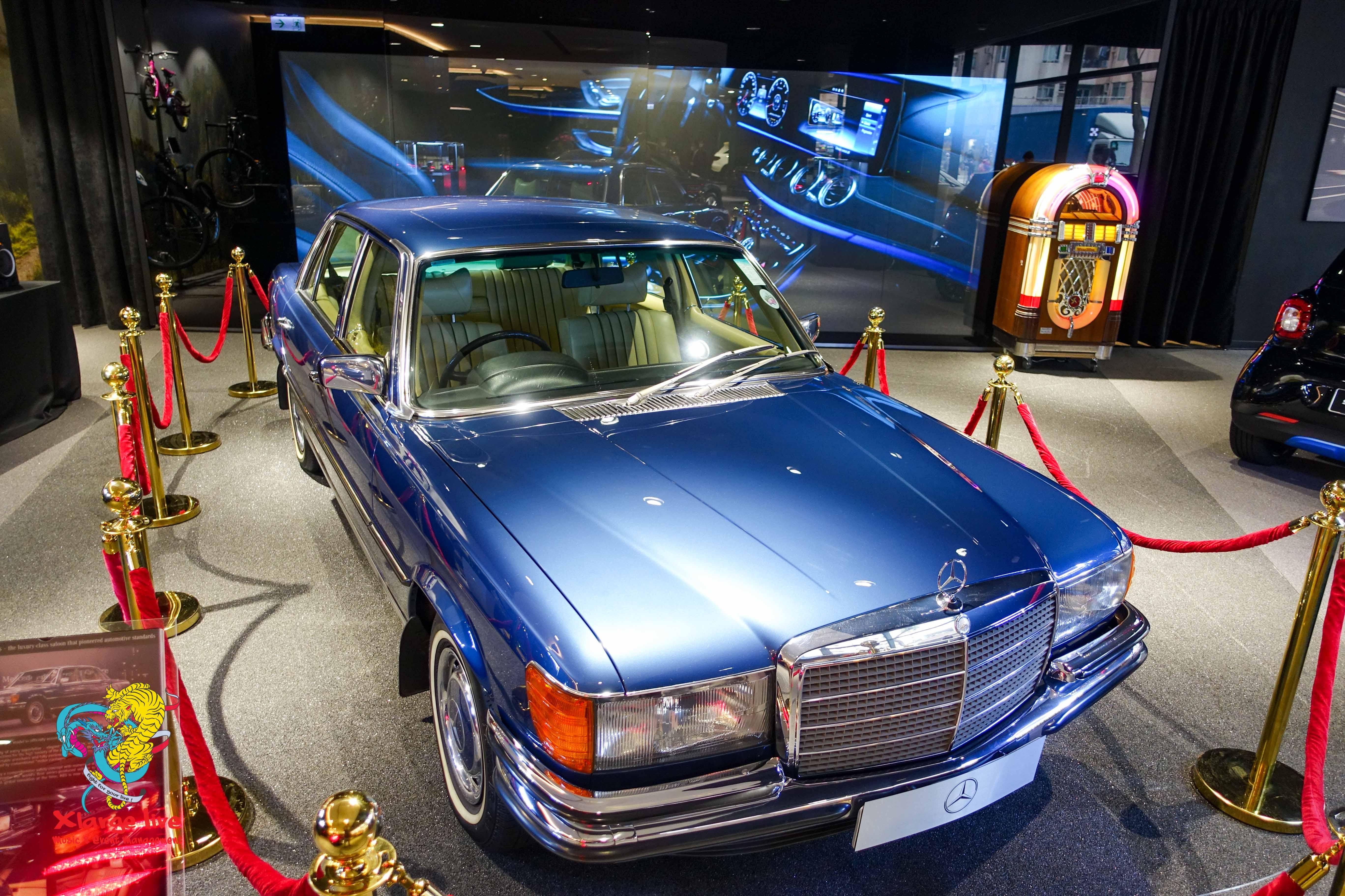 Mecedes Benz classic car showcase