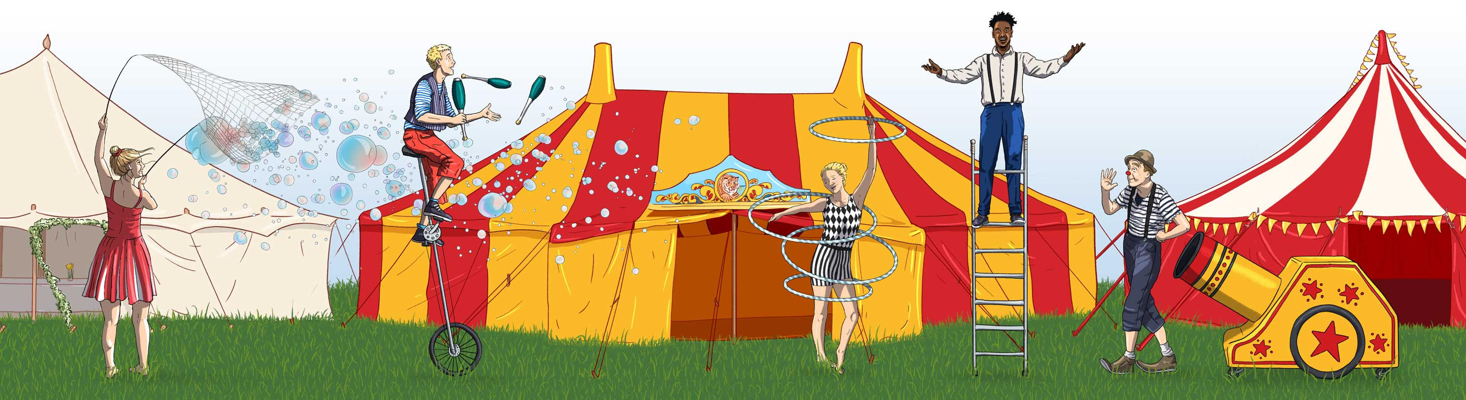 Big Top Illustration