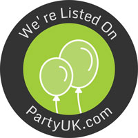 We are listed on the partyuk.com Party planning website.