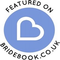 As featured on Bridebook listing of wedding suppliers