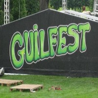 Kidzone Supplier at Guilfest  music festival in Surrey.