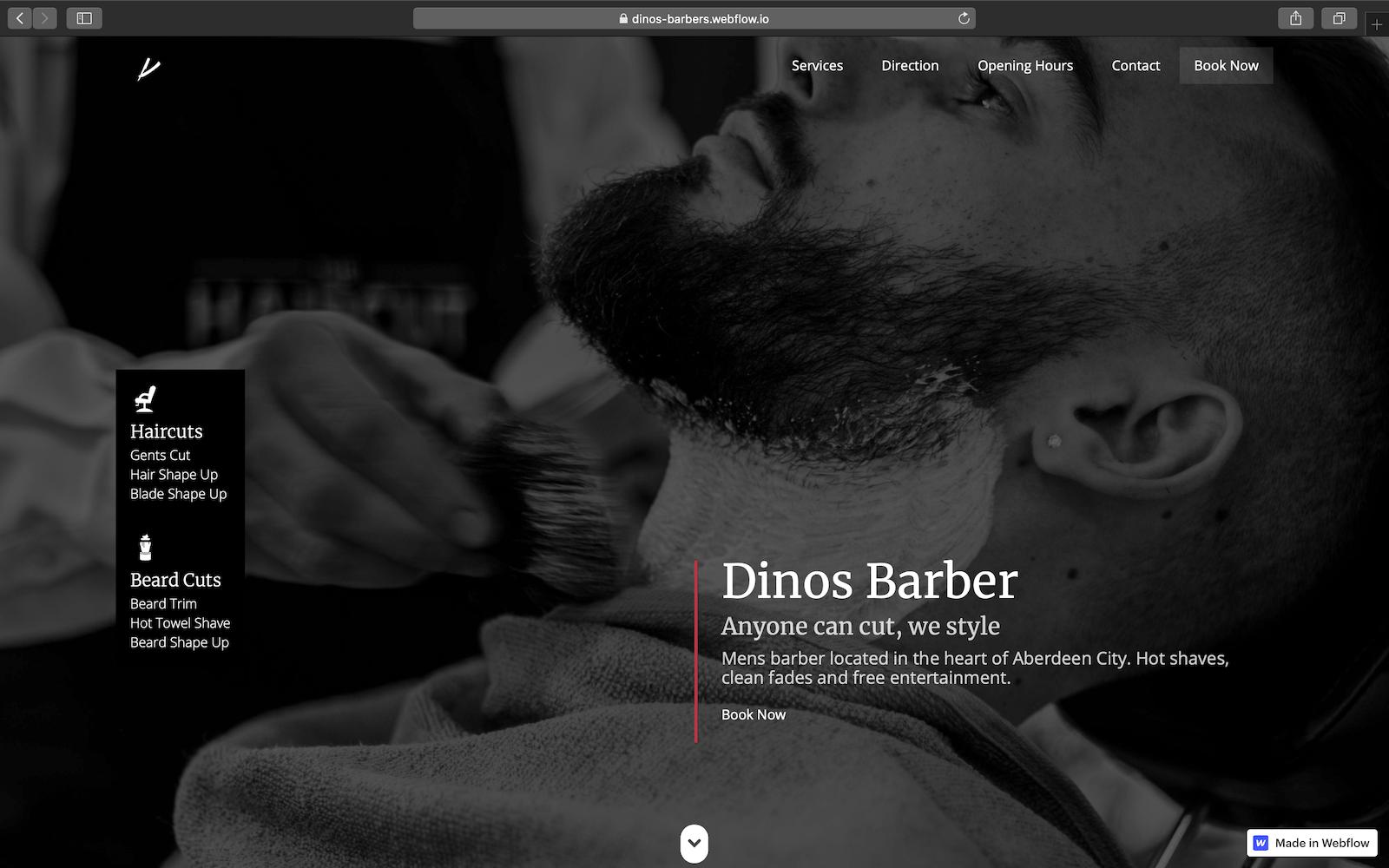 Dinos Barber