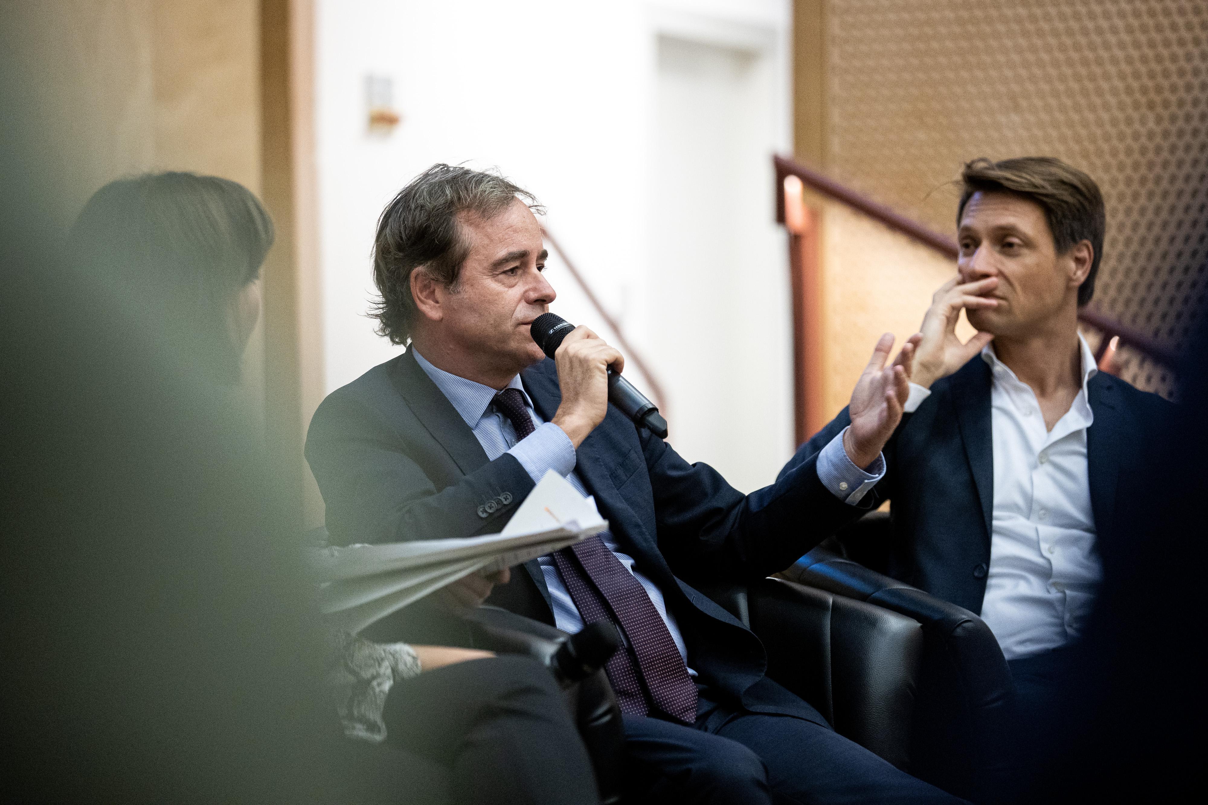 Dutch Ambassador Rene van Hell - Photo: CEU / Kepszerkesztoseg (Andras Dimeny)