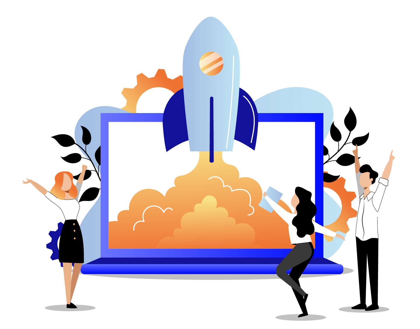 Small business web design graphic