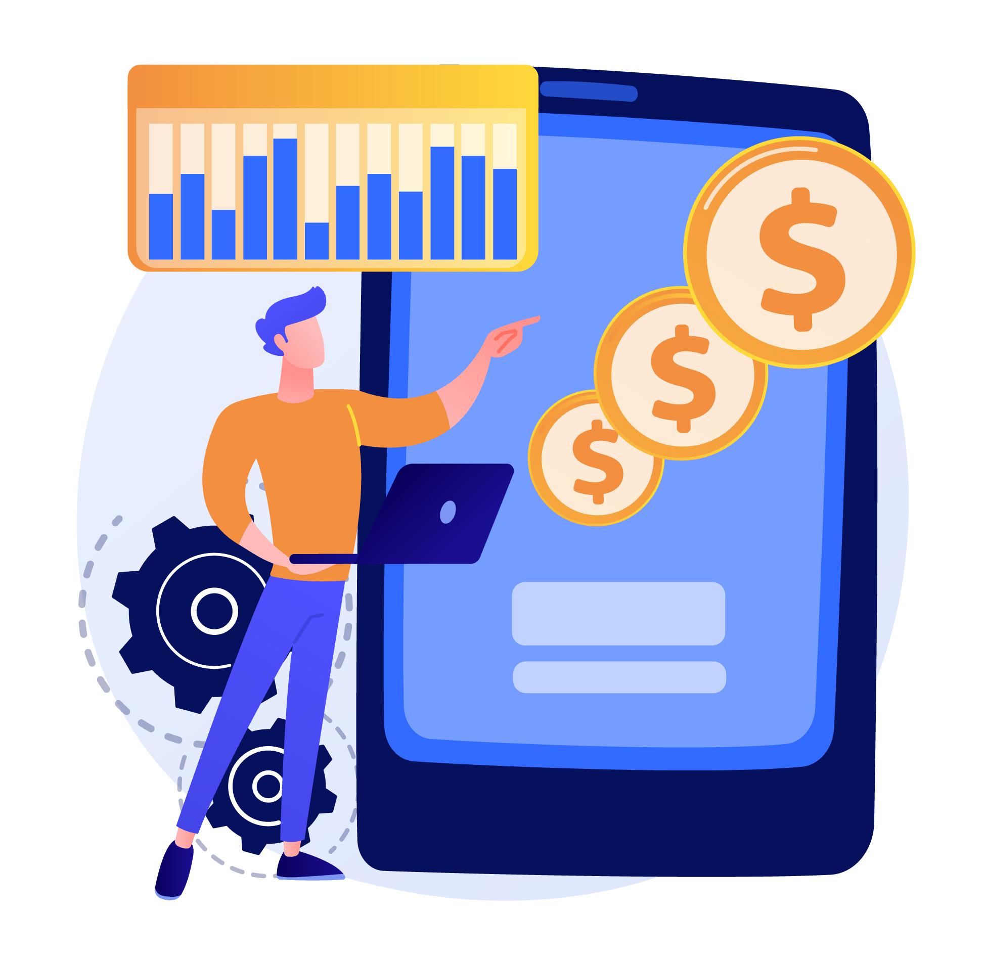 Custom small business website graphic