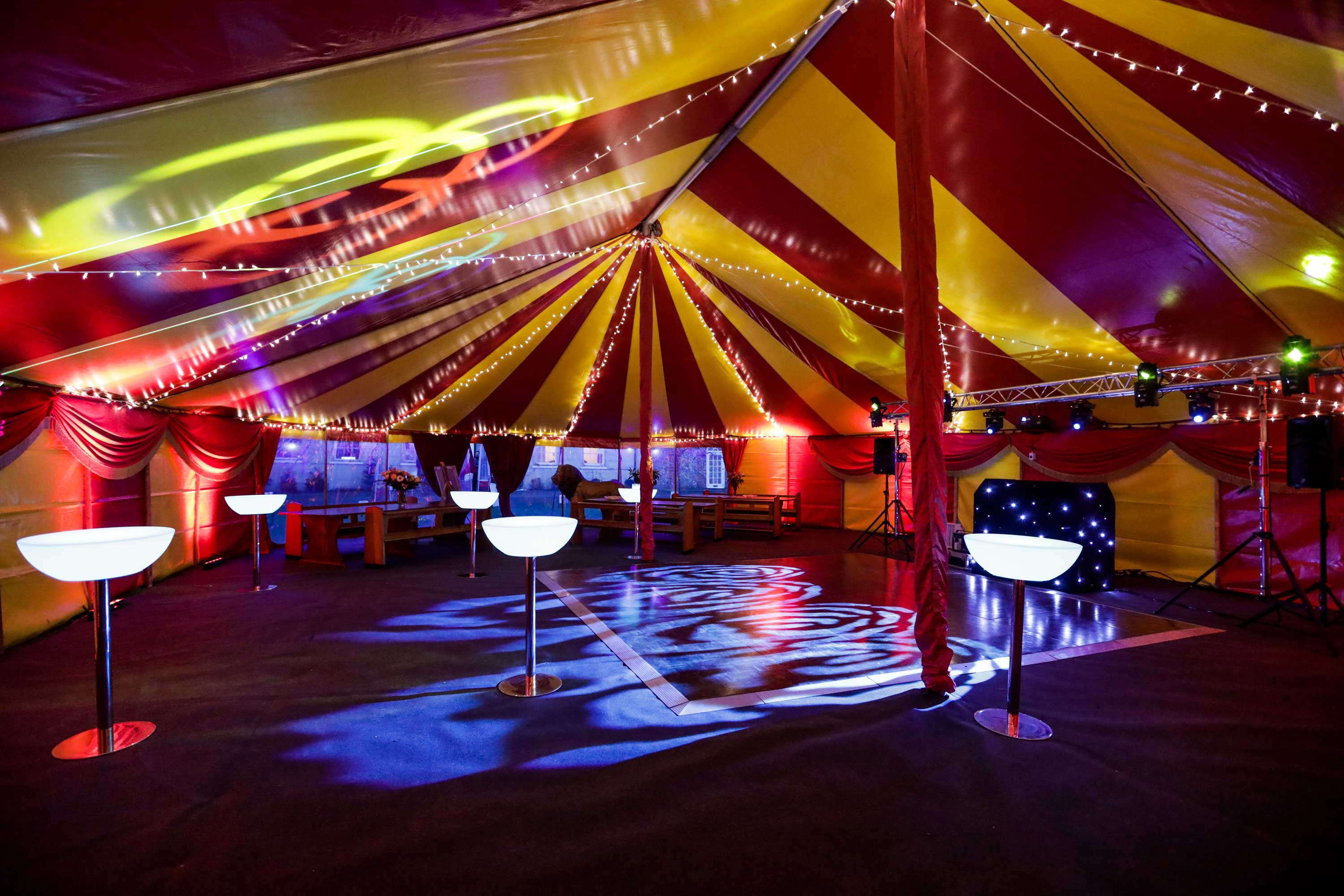 best adult circus theme party supplier in the uk