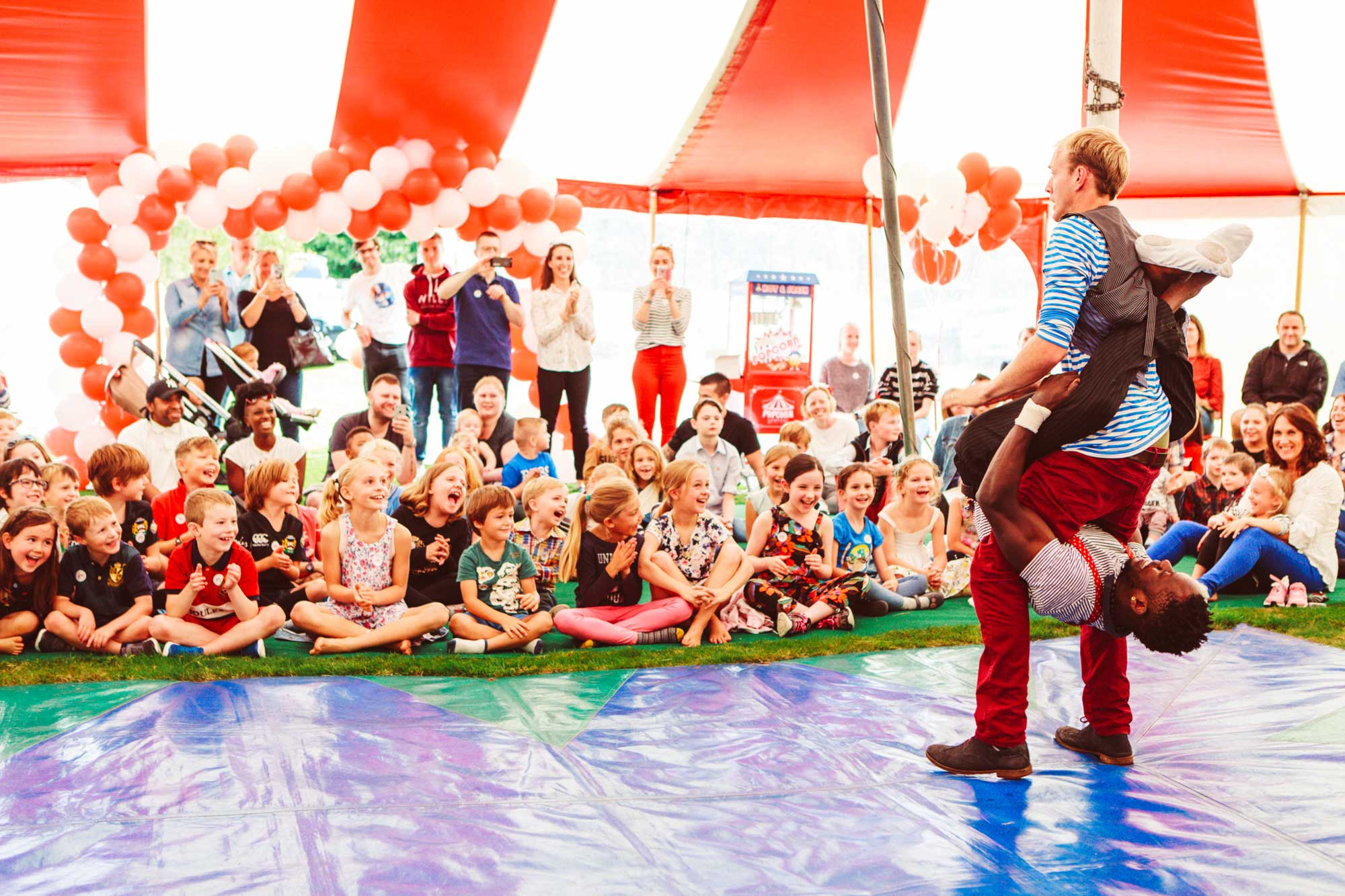 best childrens circus parties in the uk