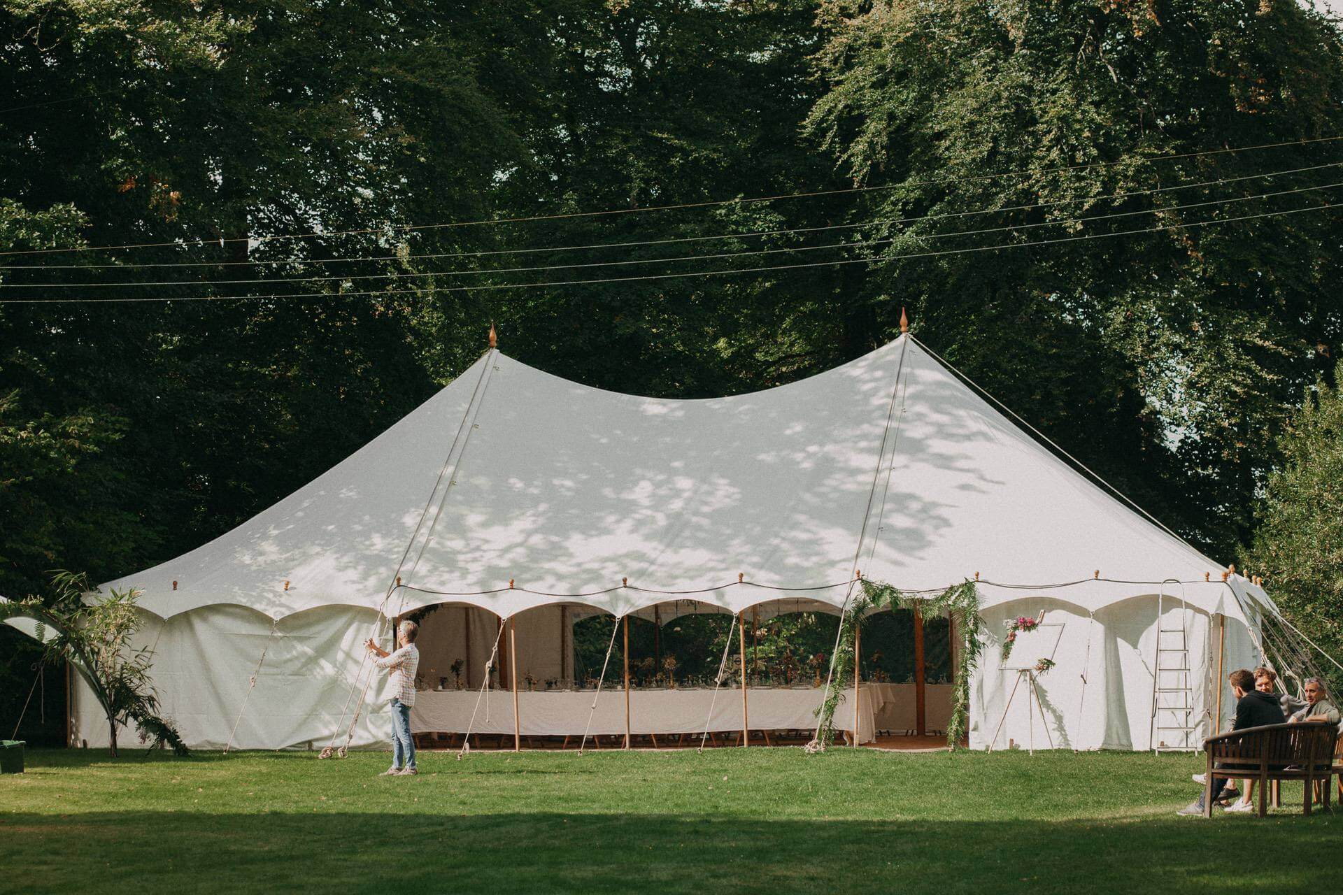 petal marquee hire in the south west uk