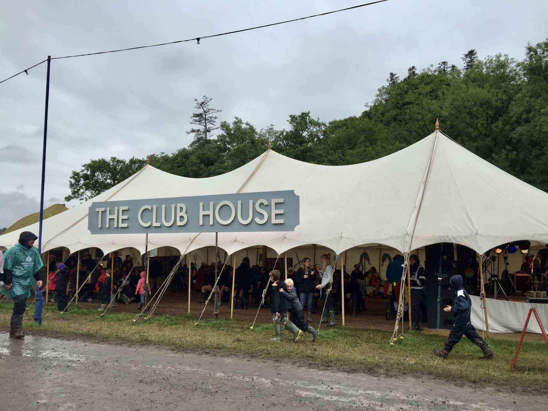 Festival marquee bar hire